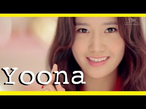 every Girls' Generation MV but only when Yoona has a line | 소녀시대 x 윤아