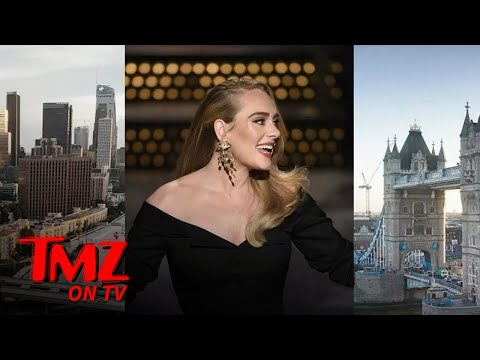 Adele Says She Lives in L.A. Because She Can't Afford London Real Estate | TMZ TV