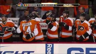 Blackhawks win Stanley Cup in OT, beat Flyers in Game 6