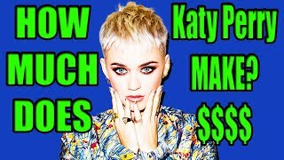 How much money does Katy Perry Music Make?