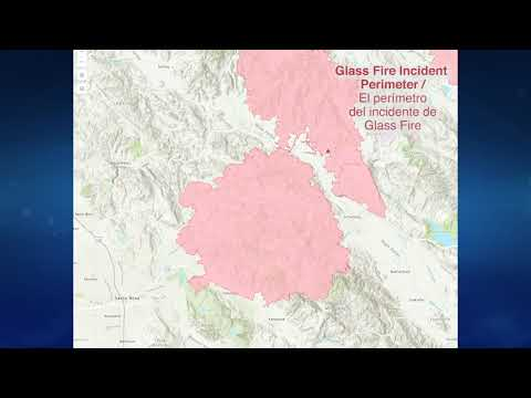 Glass Fire Map Update - 10/5/2020
