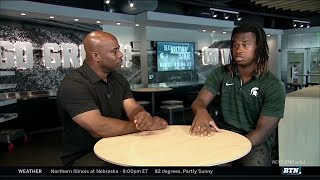 Loungin' with Howard: Darrell Stewart Jr. | Michigan State | B1G Football