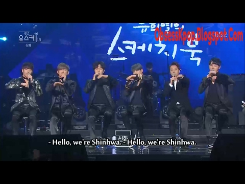 [Eng] Shinhwa Interview CUT on YHY Sketchbook