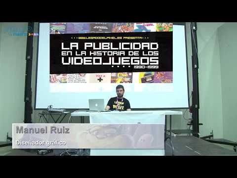 """RetroMadrid 2018 - Conferencia """"Publicidad y videojuegos en la década de los 90"""""""
