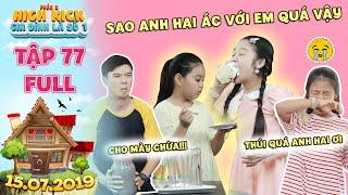 Gia đình là số 1 Phần 2|tập 77 full:Lam Chị bị Trạng Nguyên và Tâm Anh hợp sức chơi xấu bằng mắm tôm