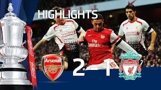 Arsenal vs Liverpool 2-1 FA Cup 5th Round goals & highlights 2014