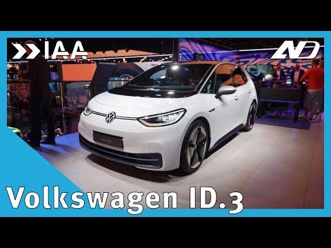 Este es el nuevo auto eléctrico de Volkswagen: el ID.3 - IAA2019