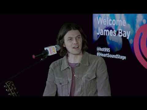 LIVE: James Bay in our iHeartRadio Sound Stage