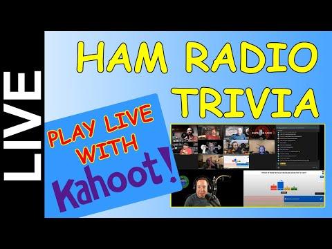 Ham Radio Trivia Live - Sept 17th 7PM CDT - Come Play!