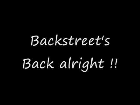 Backstreet boys everybody lyrics