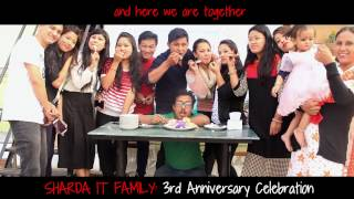 3rd Anniversary Celebration of SHARDA IT SERVICE PVT LTD