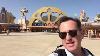 Walking tour of Motiongate Dubai