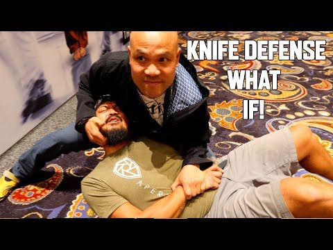 Knife Defense with Funker Tactical | Master Wong