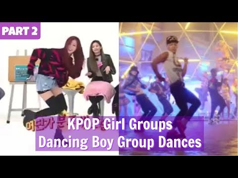 PART 2 || KPOP Girl Groups Dancing Boy Group Dances || WEEKLY IDOL EDITION