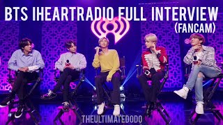 FULL INTERVIEW FANCAM BTS iHeartRadio Live 2020 LA KIISFM 200127 ?????