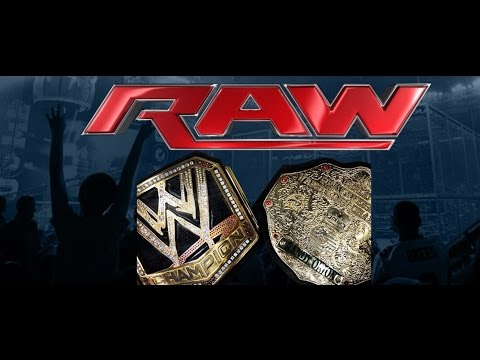 MAJOR WWE RAW Angle Ft. WWE World Heavyweight Championship & Triple H On RAW - SeanzViewEnt  - PPJiZfp8uG8 -