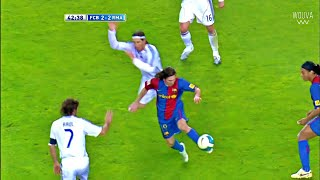 19 Year Old Lionel Messi Destroyed Real Madrid (With Rare Commentary)