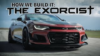 How To Build a 1000 HP Camaro ZL1 1LE! // THE EXORCIST by HENNESSEY