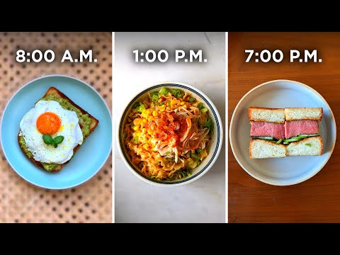 What A Professional Chef Eats In A Day ? Tasty