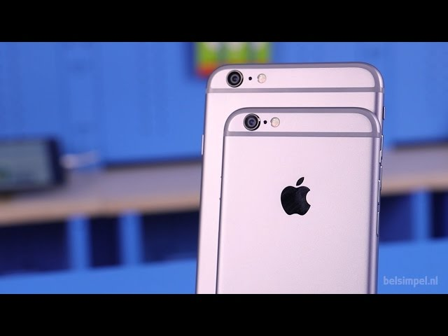 Belsimpel.nl-productvideo voor de Apple iPhone 6 Plus 64GB Silver