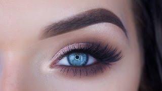Easy Glam Eye Makeup Tutorial   ABH Eyeshadows