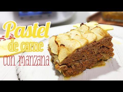 Pastel de Carne y Manzana | Muy Fácil y Delicioso