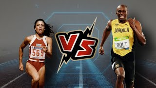 Usain Bolt vs Flo-Jo | Skill Comparison