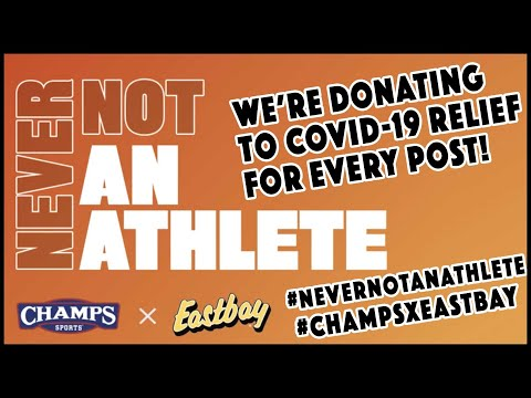 #NeverNotAnAthlete encourages student-athletes to stay prepared and giveback through sport