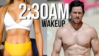 I Did Mark Wahlberg's Workout & Diet | 8 MEALS CRAZY SLEEP PATTERN