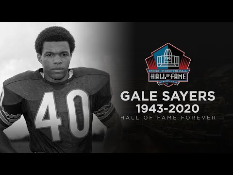 Remembering Hall of Famer Gale Sayers