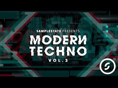 Samplestate presents Modern Techno 3, Techno Loops, Samples & Sounds