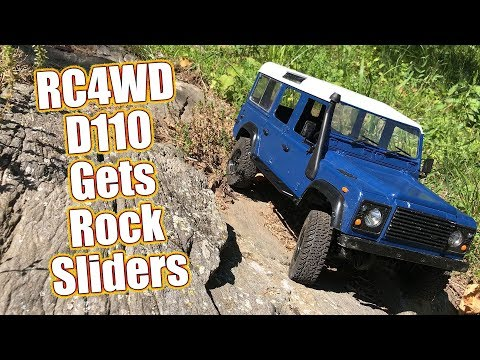 Rock Slider Install On The RC4WD Gelande II D110 - RC Quick Drive PT3  | RC Driver