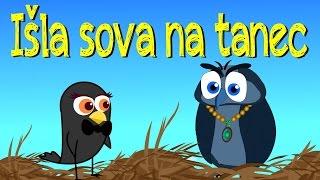 Išla sova na tanec | Zbierka | 14 minútový mix | Slovenské detské pesničky