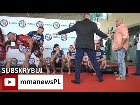 "Awantura ""Najman vs. Trybson i Kołecki"" na konferencji prasowej PLMMA/TV Puls"