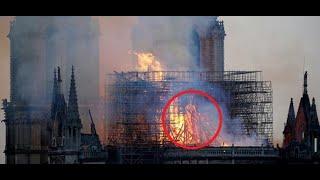 Pożar Notre Dame: Kobieta twierdzi, że zobaczyła w płomieniach Jezusa   Aktualności 360