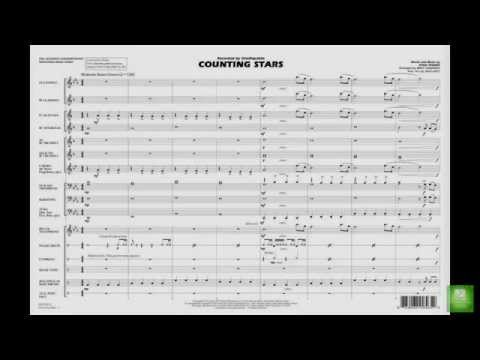 Baixar Counting Stars arranged by Matt Conaway