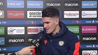 21 dicembre 2019   Udinese - Cagliari 2-1   intervista De Paul post partita