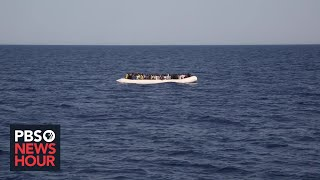 Death toll surges as migrants try to reach Europe