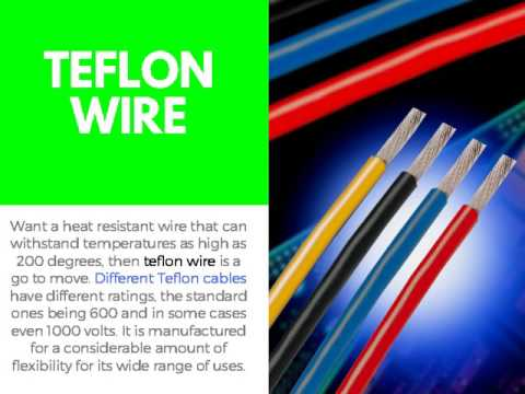 Different Types Of Wires Used In Everyday Lives