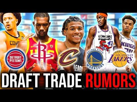 The 6 BIGGEST 2021 NBA Draft Trade Rumors Right Now! [NBA News]