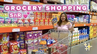 VLOGMAS: LET'S GO GROCERY SHOPPING (SNR + HEALTHY OPTIONS) | Jammy Cruz