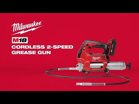 Milwaukee M18GG-0 18v Grease Gun Cordless Bare Unit