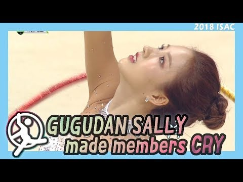 [Idol Star Athletics Championship] 아이돌스타 선수권대회 1부 - SALLY, The eyes are moistened  20180215