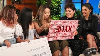 Watch Kylie Jenner SURPRISE Fans With $1 Million!