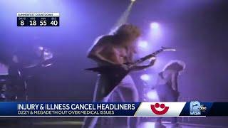 Megadeth cancels July 4 Summerfest concert