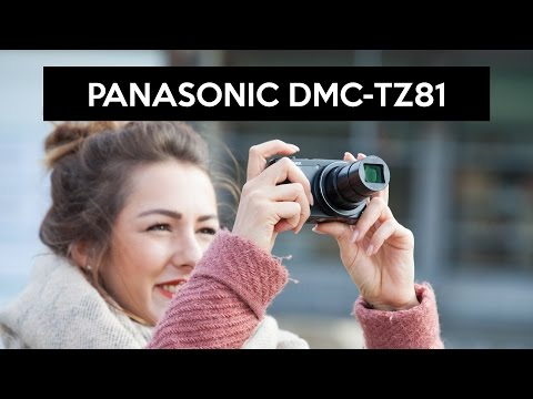 video Panasonic LUMIX DMC-TZ81EG-S Travellerzoom Kamera (18,1 Megapixel, LEICA Objektiv mit 30x opt. Zoom, 4K Foto und Video, Sucher, 3-Zoll Touch-LCD) silber