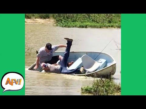 Small Boat, BIG FAIL! 😂  | Funny Fails | AFV 2020