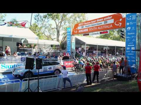 Stage 2 UCI Santos Women's Tour with CANYON//SRAM