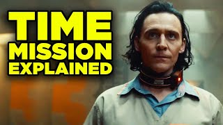LOKI TRAILER NEW EASTER EGGS! Time Variance Authority Mission Explained!