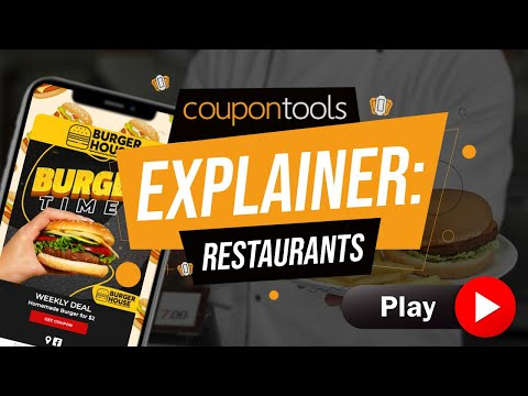 Videos Coupontools.com | Restaurant Explainer Video